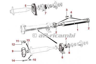 115bearing For Propeller Shaft 60516692