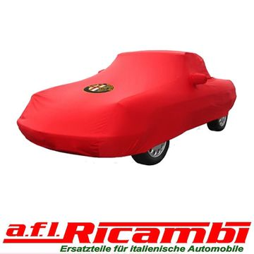 Car Cover Rot Maßanfertigung Alfa Romeo Spider Bj - Alfa romeo spider car cover